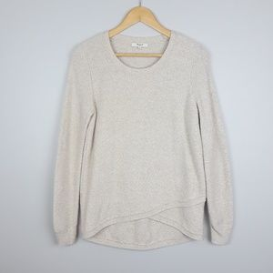 Madewell   Feature Pullover Sweater   Cream
